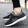 Stylish And Comfortable Mesh Breathable Casual Men's Shoes - WHITE