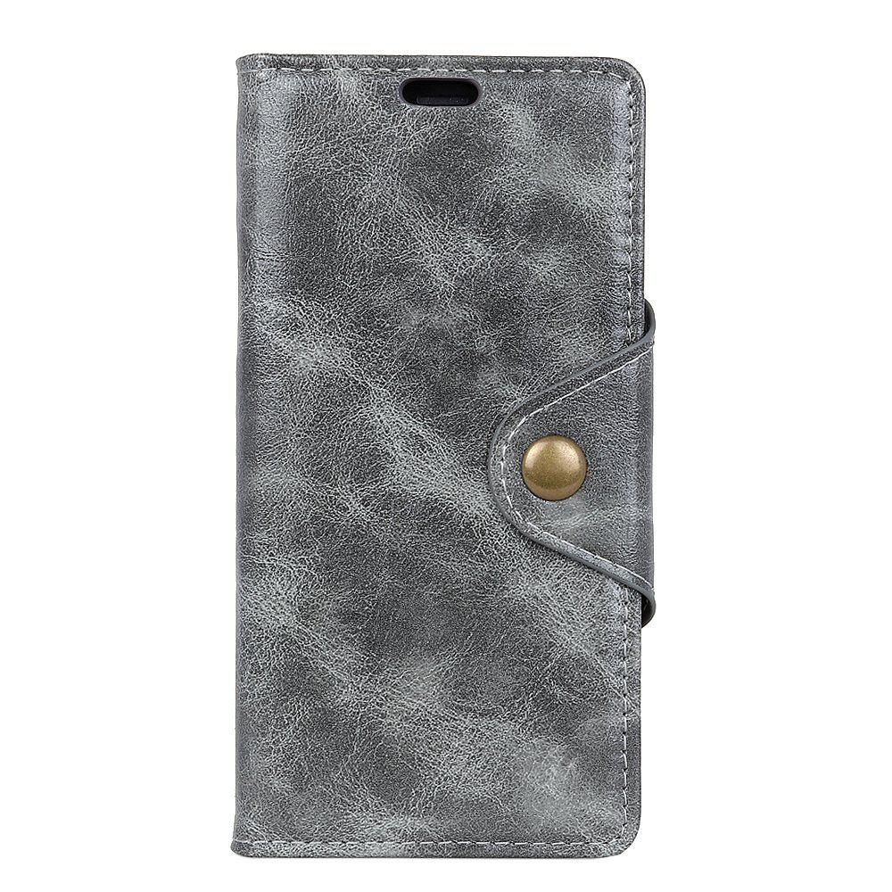 Per Huawei Mate 10 Pro Custodia in pelle Revit Flap Wallet Custodia con 3 slot per schede