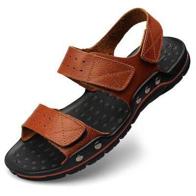ZEACAVA Men Leisure Leather Beach SandalsMens Sandals<br>ZEACAVA Men Leisure Leather Beach Sandals<br><br>Available Size: 39-48<br>Closure Type: Lace-Up<br>Embellishment: None<br>Gender: For Men<br>Heel Hight: 2cm<br>Occasion: Casual<br>Outsole Material: Rubber<br>Package Contents: 1xShoes(Pair)<br>Pattern Type: Solid<br>Sandals Style: Slides<br>Style: Retro<br>Upper Material: PU<br>Weight: 1.2000kg