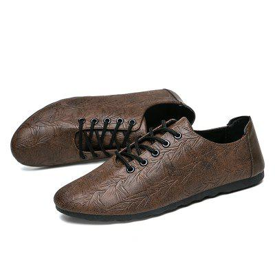 Business Casual Shoes for MenFlats &amp; Loafers<br>Business Casual Shoes for Men<br><br>Available Size: 40,41,42,43,44<br>Closure Type: Lace-Up<br>Embellishment: None<br>Gender: For Men<br>Occasion: Party<br>Outsole Material: Rubber<br>Package Contents: 1xShoes(pair)<br>Pattern Type: Others<br>Season: Summer, Winter, Spring/Fall<br>Toe Shape: Round Toe<br>Toe Style: Closed Toe<br>Upper Material: PU<br>Weight: 1.6896kg