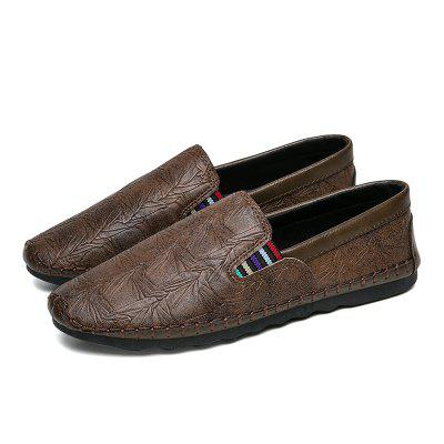 Breathable Simple Style Formal Casual Shoes For MenFlats &amp; Loafers<br>Breathable Simple Style Formal Casual Shoes For Men<br><br>Available Size: 40,41,42,43,44<br>Closure Type: Slip-On<br>Embellishment: None<br>Gender: For Men<br>Occasion: Casual<br>Outsole Material: Rubber<br>Package Contents: 1xShoes(pair)<br>Pattern Type: Others<br>Season: Summer, Winter, Spring/Fall<br>Toe Shape: Round Toe<br>Toe Style: Closed Toe<br>Upper Material: PU<br>Weight: 1.6896kg