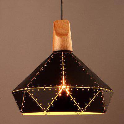 Nordic Novelty Iron Industry Vintage Home Decor Pendant Light for Restaurant DD-04