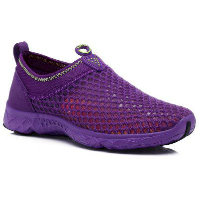 Women Weave Breathable Mesh Running Shoes