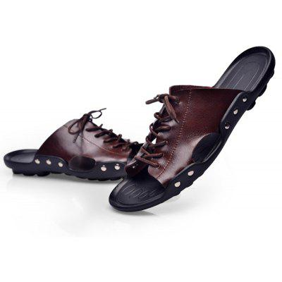 Mens Lace Decorative SandalsMens Sandals<br>Mens Lace Decorative Sandals<br><br>Available Size: 38-44<br>Closure Type: Slip-On<br>Embellishment: None<br>Gender: For Men<br>Heel Hight: 2cm<br>Occasion: Casual<br>Outsole Material: Rubber<br>Package Contents: 1xshoes(pair)<br>Pattern Type: Others<br>Sandals Style: Cross-Strap<br>Style: Leisure<br>Upper Material: PU<br>Weight: 1.2000kg