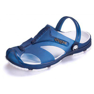 Summer Wading Slippers Cool Non-slip Buckle Sandals for MenMens Sandals<br>Summer Wading Slippers Cool Non-slip Buckle Sandals for Men<br><br>Available Size: 40-44<br>Closure Type: Buckle Strap<br>Embellishment: None<br>Gender: For Women<br>Heel Hight: 1cm<br>Occasion: Casual<br>Outsole Material: Rubber<br>Package Contents: 1 x  Sandals (pair)<br>Pattern Type: Solid<br>Sandals Style: Slides<br>Style: Leisure<br>Upper Material: Resin<br>Weight: 0.8640kg