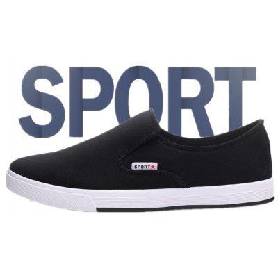 Summer New Mens Casual Canvas ShoesCasual Shoes<br>Summer New Mens Casual Canvas Shoes<br><br>Available Size: 39.40.41.42.43.44<br>Closure Type: Elastic band<br>Embellishment: None<br>Gender: For Men<br>Outsole Material: Rubber<br>Package Contents: 1XShoes ( Pair)<br>Pattern Type: Others<br>Season: Summer, Spring/Fall<br>Toe Shape: Round Toe<br>Toe Style: Closed Toe<br>Upper Material: Canvas<br>Weight: 2.8050kg