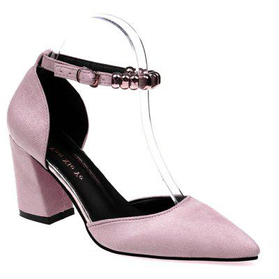 Buy Fashion Temperament Female High Heels PINK 35 for $32.79 in GearBest store