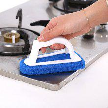 Triangular Sponge Fiber Scouring Pad Cleaning Brush