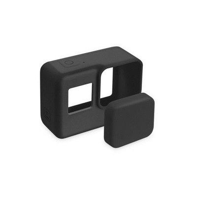 Pro Accessories Action Camera Case Protective Silicone Case Skin +Lens Cap cover for GoPro Hero 5 Black Hero 6 Camera