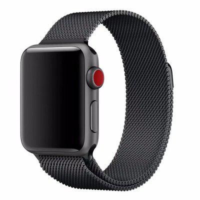Milanese Magnetic Stainless Steel Watch Strap Bands for iWatch 3 / 2 / 1 42mm