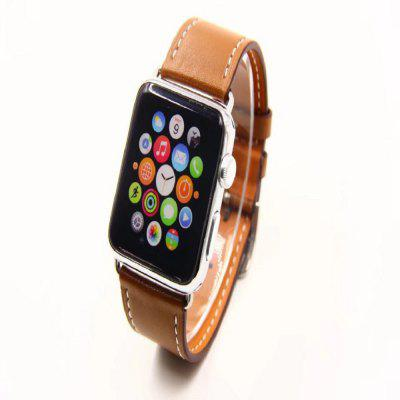 42MM 38MM Simple Leather Strap Is Suitable for Iwatch 1/2/3