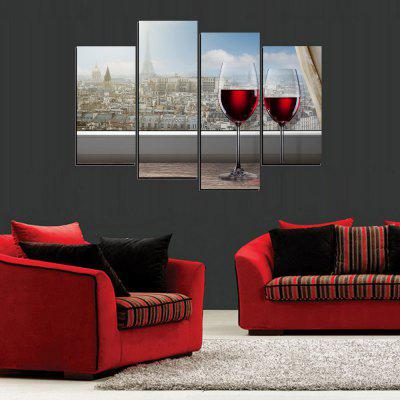 MailingArt FIV391  4 Panels Landscape Wall Art Painting Home Decor Canvas PrintPrints<br>MailingArt FIV391  4 Panels Landscape Wall Art Painting Home Decor Canvas Print<br><br>Craft: Print<br>Form: Four Panels<br>Material: Canvas<br>Package Contents: 4 x Print<br>Package size (L x W x H): 82.00 x 32.00 x 12.00 cm / 32.28 x 12.6 x 4.72 inches<br>Package weight: 1.8000 kg<br>Painting: Include Inner Frame<br>Shape: Horizontal Panoramic<br>Style: Construction, Scenic, Animal, Natural<br>Subjects: Still Life<br>Suitable Space: Living Room,Bedroom,Dining Room,Office,Hotel,Cafes,Kids Room,Kitchen,Hallway,Kids Room,Study Room / Office