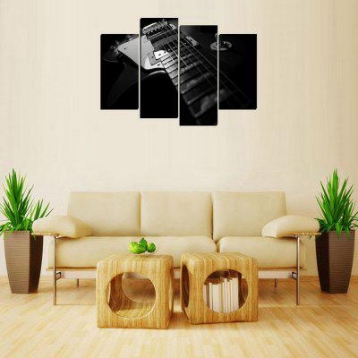 MailingArt FIV397  4 Panels Music Wall Art Painting Home Decor Canvas Print