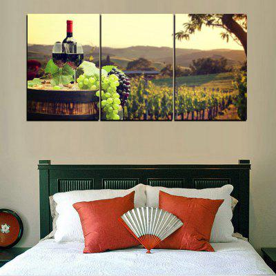 MailingArt FIV399  3 Panels Landscape Wall Art Painting Home Decor Canvas PrintPrints<br>MailingArt FIV399  3 Panels Landscape Wall Art Painting Home Decor Canvas Print<br><br>Craft: Print<br>Form: Three Panels<br>Material: Canvas<br>Package Contents: 3 x Print<br>Package size (L x W x H): 82.00 x 32.00 x 12.00 cm / 32.28 x 12.6 x 4.72 inches<br>Package weight: 1.8000 kg<br>Painting: Include Inner Frame<br>Shape: Horizontal Panoramic<br>Style: Pastoral, Fruits Pattern, Natural<br>Subjects: Seascape<br>Suitable Space: Living Room,Bedroom,Dining Room,Office,Hotel,Cafes,Kids Room,Kitchen,Corridor,Hallway,Kids Room,Study Room / Office,Boys Room,Girls Room