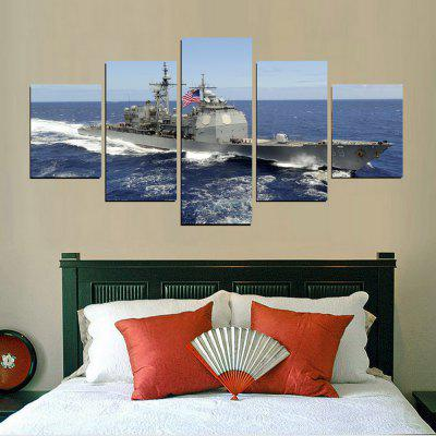 MailingArt FIV400  5 Panels Landscape Wall Art Painting Home Decor Canvas PrintPrints<br>MailingArt FIV400  5 Panels Landscape Wall Art Painting Home Decor Canvas Print<br><br>Craft: Print<br>Form: Five Panels<br>Material: Canvas<br>Package Contents: 5 x Print<br>Package size (L x W x H): 82.00 x 32.00 x 12.00 cm / 32.28 x 12.6 x 4.72 inches<br>Package weight: 1.8000 kg<br>Painting: Include Inner Frame<br>Shape: Horizontal Panoramic<br>Style: Realism, Modern / Contemporary, Military<br>Subjects: Others<br>Suitable Space: Living Room,Bedroom,Dining Room,Office,Hotel,Cafes,Kids Room,Kitchen,Hallway,Kids Room,Study Room / Office