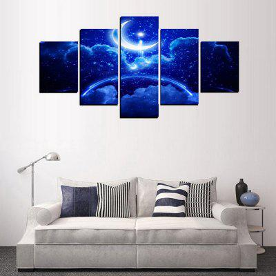 MailingArt FIV404  5 Panels Landscape Wall Art Painting Home Decor Canvas PrintPrints<br>MailingArt FIV404  5 Panels Landscape Wall Art Painting Home Decor Canvas Print<br><br>Craft: Print<br>Form: Five Panels<br>Material: Canvas<br>Package Contents: 5 x Print<br>Package size (L x W x H): 82.00 x 32.00 x 12.00 cm / 32.28 x 12.6 x 4.72 inches<br>Package weight: 1.8000 kg<br>Painting: Include Inner Frame<br>Shape: Horizontal Panoramic<br>Style: Oil Painting, Scenic, Galaxy, Natural<br>Subjects: Landscape<br>Suitable Space: Living Room,Bedroom,Dining Room,Office,Hotel,Cafes,Kitchen,Corridor,Hallway,Study Room / Office