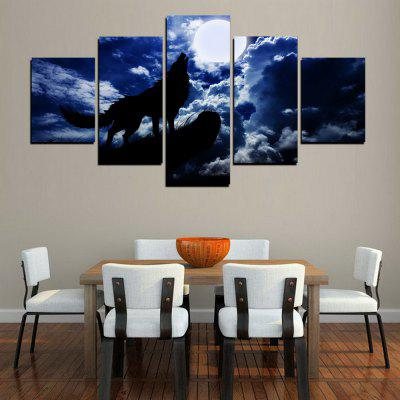 MailingArt FIV405  5 Panels Landscape Wall Art Painting Home Decor Canvas PrintPrints<br>MailingArt FIV405  5 Panels Landscape Wall Art Painting Home Decor Canvas Print<br><br>Craft: Print<br>Form: Five Panels<br>Material: Canvas<br>Package Contents: 5 x Print<br>Package size (L x W x H): 38.00 x 8.00 x 8.00 cm / 14.96 x 3.15 x 3.15 inches<br>Package weight: 0.3000 kg<br>Painting: Include Inner Frame<br>Shape: Horizontal Panoramic<br>Style: Oil Painting, Military, Animal, Scenic<br>Subjects: Animal<br>Suitable Space: Living Room,Bedroom,Dining Room,Office,Hotel,Cafes,Kitchen,Corridor,Hallway,Study Room / Office
