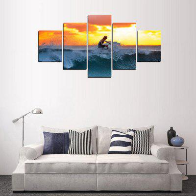 MailingArt FIV408  5 Panels Sports Wall Art Painting Home Decor Canvas PrintPrints<br>MailingArt FIV408  5 Panels Sports Wall Art Painting Home Decor Canvas Print<br><br>Craft: Print<br>Form: Five Panels<br>Material: Canvas<br>Package Contents: 5 x Print<br>Package size (L x W x H): 38.00 x 8.00 x 8.00 cm / 14.96 x 3.15 x 3.15 inches<br>Package weight: 0.3000 kg<br>Painting: Include Inner Frame<br>Shape: Horizontal Panoramic<br>Style: Military, Sport<br>Subjects: Others<br>Suitable Space: Living Room,Bedroom,Dining Room,Office,Hotel,Cafes,Kids Room,Kitchen,Hallway,Kids Room,Study Room / Office