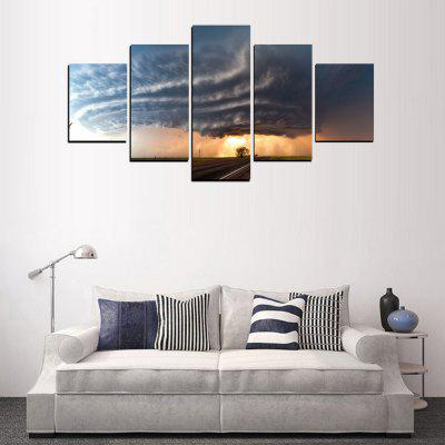 MailingArt FIV415  5 Panels Landscape Wall Art Painting Home Decor Canvas PrintPrints<br>MailingArt FIV415  5 Panels Landscape Wall Art Painting Home Decor Canvas Print<br><br>Craft: Print<br>Form: Five Panels<br>Material: Canvas<br>Package Contents: 5 x Print<br>Package size (L x W x H): 38.00 x 8.00 x 8.00 cm / 14.96 x 3.15 x 3.15 inches<br>Package weight: 0.3000 kg<br>Painting: Include Inner Frame<br>Shape: Horizontal Panoramic<br>Style: Scenic, Military, Natural<br>Subjects: Landscape<br>Suitable Space: Living Room,Bedroom,Dining Room,Office,Hotel,Cafes,Kitchen,Corridor,Hallway,Study Room / Office