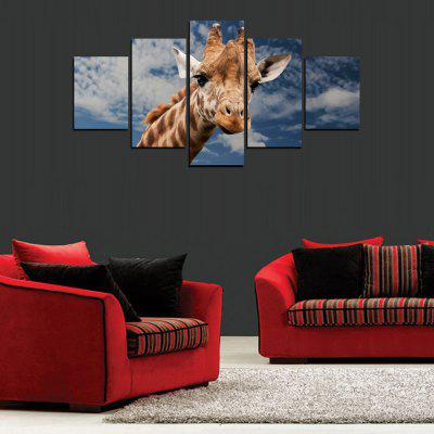 MailingArt FIV416  5 Panels Animal Wall Art Painting Home Decor Canvas PrintPrints<br>MailingArt FIV416  5 Panels Animal Wall Art Painting Home Decor Canvas Print<br><br>Craft: Print<br>Form: Five Panels<br>Material: Canvas<br>Package Contents: 5 x Print<br>Package size (L x W x H): 38.00 x 8.00 x 8.00 cm / 14.96 x 3.15 x 3.15 inches<br>Package weight: 0.3000 kg<br>Painting: Include Inner Frame<br>Shape: Horizontal Panoramic<br>Style: Office / Business, Modern / Contemporary, Realism, Animal, Military<br>Subjects: Others<br>Suitable Space: Living Room,Bedroom,Dining Room,Office,Hotel,Cafes,Kids Room,Kitchen,Hallway,Kids Room,Study Room / Office