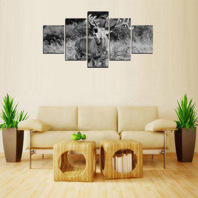 MailingArt FIV419  5 Panels Animal Wall Art Painting Home Decor Canvas PrintPrints<br>MailingArt FIV419  5 Panels Animal Wall Art Painting Home Decor Canvas Print<br><br>Craft: Print<br>Form: Five Panels<br>Material: Canvas<br>Package Contents: 5 x Print<br>Package size (L x W x H): 82.00 x 32.00 x 12.00 cm / 32.28 x 12.6 x 4.72 inches<br>Package weight: 1.8000 kg<br>Painting: Include Inner Frame<br>Shape: Horizontal Panoramic<br>Style: Office / Business, Modern / Contemporary, Realism, Animal, Military<br>Subjects: Animal<br>Suitable Space: Living Room,Bedroom,Dining Room,Office,Hotel,Cafes,Kids Room,Kitchen,Hallway,Kids Room,Study Room / Office