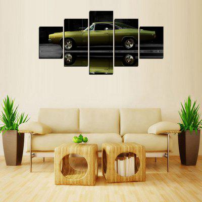 MailingArt FIV422  5 Panels Car Wall Art Painting Home Decor Canvas Print