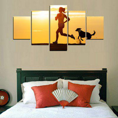 MailingArt FIV423  5 Panels Sports Wall Art Painting Home Decor Canvas PrintPrints<br>MailingArt FIV423  5 Panels Sports Wall Art Painting Home Decor Canvas Print<br><br>Craft: Print<br>Form: Five Panels<br>Material: Canvas<br>Package Contents: 5 x Print<br>Package size (L x W x H): 38.00 x 8.00 x 8.00 cm / 14.96 x 3.15 x 3.15 inches<br>Package weight: 0.3000 kg<br>Painting: Include Inner Frame<br>Shape: Horizontal Panoramic<br>Style: Office / Business, Modern / Contemporary, Realism, Sport, Military<br>Subjects: Sports<br>Suitable Space: Living Room,Bedroom,Dining Room,Office,Hotel,Cafes,Kids Room,Kitchen,Hallway,Kids Room,Study Room / Office