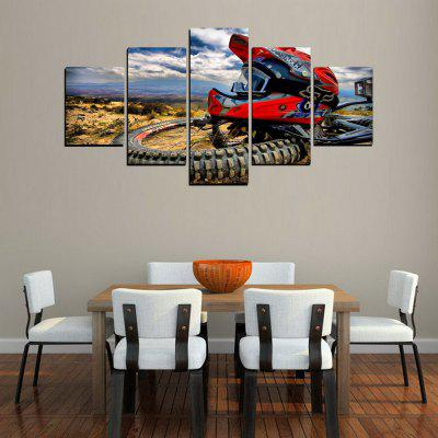 MailingArt FIV426  5 Panels Motor Wall Art Painting Home Decor Canvas PrintPrints<br>MailingArt FIV426  5 Panels Motor Wall Art Painting Home Decor Canvas Print<br><br>Craft: Print<br>Form: Five Panels<br>Material: Canvas<br>Package Contents: 5 x Print<br>Package size (L x W x H): 38.00 x 8.00 x 8.00 cm / 14.96 x 3.15 x 3.15 inches<br>Package weight: 0.3000 kg<br>Painting: Include Inner Frame<br>Shape: Horizontal Panoramic<br>Style: Motorbikes<br>Subjects: Sports<br>Suitable Space: Living Room,Bedroom,Dining Room,Office,Hotel,Cafes,Kitchen,Corridor,Hallway,Study Room / Office