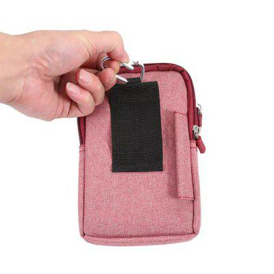 New Denim Leather Cell Phone Bag Pouch Waist Purse Case Cover for Smart Phone