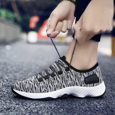 Breathable Flying Mens SneakersMen's Sneakers<br>Breathable Flying Mens Sneakers<br><br>Available Size: 39,40,41,42,43,44<br>Closure Type: Lace-Up<br>Embellishment: None<br>Gender: For Men<br>Outsole Material: Rubber<br>Package Contents: 1xShoes(pair)<br>Pattern Type: Others<br>Season: Summer, Winter, Spring/Fall<br>Toe Shape: Round Toe<br>Toe Style: Closed Toe<br>Upper Material: Cotton Fabric<br>Weight: 1.3640kg