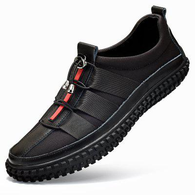 ZEACAVA Mens Leather Splicing Stylish Bungee Closure Casual SneakersMen's Sneakers<br>ZEACAVA Mens Leather Splicing Stylish Bungee Closure Casual Sneakers<br><br>Available Size: 39-44<br>Closure Type: Elastic band<br>Embellishment: None<br>Gender: For Men<br>Occasion: Casual<br>Outsole Material: Rubber<br>Package Contents: 1xShoes(Pair)<br>Pattern Type: Striped<br>Season: Spring/Fall<br>Toe Shape: Round Toe<br>Toe Style: Closed Toe<br>Upper Material: Full Grain Leather<br>Weight: 1.2000kg