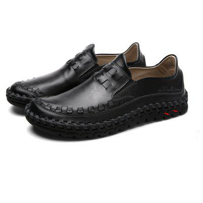ZEACAVA New Men Leather Slip On Outdoor Casual Soft Comfortable Flat Oxfords ShoesMen's Oxford<br>ZEACAVA New Men Leather Slip On Outdoor Casual Soft Comfortable Flat Oxfords Shoes<br><br>Available Size: 39-44<br>Closure Type: Slip-On<br>Embellishment: Ruched<br>Gender: For Men<br>Occasion: Casual<br>Outsole Material: Rubber<br>Package Contents: 1xShoes(Pair)<br>Pattern Type: Patchwork<br>Season: Spring/Fall<br>Toe Shape: Round Toe<br>Toe Style: Closed Toe<br>Upper Material: Full Grain Leather<br>Weight: 1.2000kg