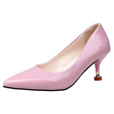 Leather Pointed Stiletto ShoesWomens Pumps<br>Leather Pointed Stiletto Shoes<br><br>Heel Type: Stiletto Heel<br>Occasion: Dress<br>Package Contents: 1xShoes pair<br>Pumps Type: Basic<br>Season: Spring/Fall<br>Toe Shape: Pointed Toe<br>Toe Style: Closed Toe<br>Upper Material: PU<br>Weight: 0.8320kg