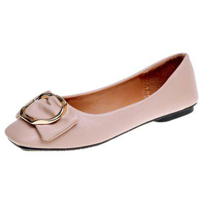 Square Buckle Shoes AsakuchiWomens Flats<br>Square Buckle Shoes Asakuchi<br><br>Available Size: 35,36,37,38,39,40<br>Closure Type: Slip-On<br>Flat Type: Mary Janes<br>Gender: For Women<br>Occasion: Casual<br>Package Contents: 1xShoes pair<br>Package size (L x W x H): 26.00 x 12.00 x 10.00 cm / 10.24 x 4.72 x 3.94 inches<br>Package weight: 0.5000 kg<br>Pattern Type: Solid<br>Season: Spring/Fall<br>Toe Shape: Square Toe<br>Toe Style: Closed Toe<br>Upper Material: PU