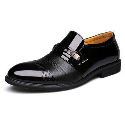 Men Cap Toe Pointed Toe Slip On Business Formal ShoesFormal Shoes<br>Men Cap Toe Pointed Toe Slip On Business Formal Shoes<br><br>Available Size: 38-48<br>Closure Type: Elastic band<br>Embellishment: Sequined<br>Gender: For Men<br>Occasion: Dress<br>Outsole Material: Rubber<br>Package Contents: 1 x Pair of Shoes<br>Pattern Type: Geometric<br>Season: Summer, Spring/Fall<br>Toe Shape: Pointed Toe<br>Toe Style: Closed Toe<br>Upper Material: PU<br>Weight: 2.2500kg