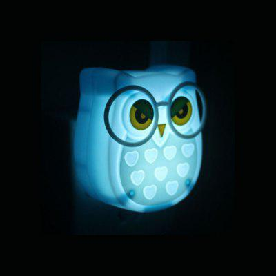 BRELONG Owl  Control Night Light  Intelligent LED Sensor Bedside Wall LampNight Lights<br>BRELONG Owl  Control Night Light  Intelligent LED Sensor Bedside Wall Lamp<br><br>Brand: BRELONG<br>Color Temperature or Wavelength: 6000-6500k<br>Connector Type: US plug<br>Features: Sensor<br>Light Source Color: White<br>Light Type: LED Night Light<br>Mini Voltage: 110-220V<br>Package Contents: 1 x Owl Night Light<br>Package size (L x W x H): 12.80 x 11.30 x 6.50 cm / 5.04 x 4.45 x 2.56 inches<br>Package weight: 0.0170 kg<br>Plug Type: US plug<br>Power Source: AC<br>Product size (L x W x H): 8.00 x 7.50 x 6.00 cm / 3.15 x 2.95 x 2.36 inches<br>Product weight: 0.0150 kg<br>Quantity: 1<br>Style: Comtemporary<br>Wattage: Other