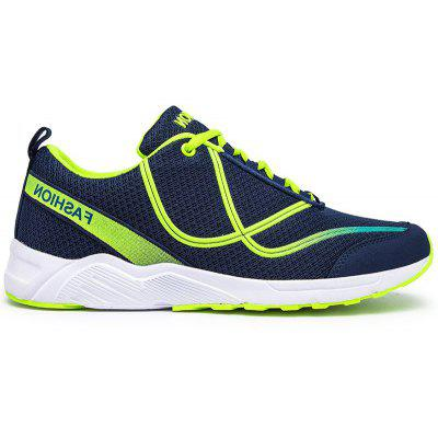 New Vibrant Line-Type Large Size Men Sports and Leisure Shoes