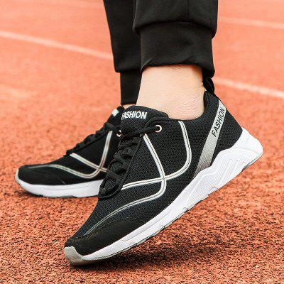New Vibrant Line-Type Large Size Men Sports and Leisure ShoesMen's Sneakers<br>New Vibrant Line-Type Large Size Men Sports and Leisure Shoes<br><br>Available Size: 39-46<br>Closure Type: Lace-Up<br>Feature: Breathable<br>Gender: For Men<br>Outsole Material: EVA<br>Package Contents: 1Xshoes(pair)<br>Package Size(L x W x H): 33.00 x 20.00 x 12.00 cm / 12.99 x 7.87 x 4.72 inches<br>Package weight: 0.6000 kg<br>Pattern Type: Geometric<br>Season: Spring/Fall<br>Upper Material: PU