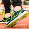 New Vibrant Line-Type Large Size Men Sports and Leisure Shoes - BLUE