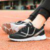 New Vibrant Line-Type Large Size Men Sports and Leisure Shoes - BLACK