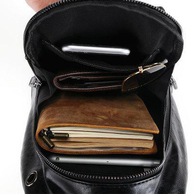 Leather Black Chest Pack Fashion Men Crossbody Bag Unbalance BackpackCrossbody Bags<br>Leather Black Chest Pack Fashion Men Crossbody Bag Unbalance Backpack<br><br>Closure Type: Zipper<br>Gender: For Men<br>Handbag Type: Crossbody bag<br>Interior: Zipper Pouch, Interior Zipper Pocket, Cell Phone Pocket, Interior Slot Pocket<br>Main Material: PU<br>Occasion: Versatile<br>Package Contents: 1 x Bag<br>Package size (L x W x H): 19.00 x 9.00 x 31.00 cm / 7.48 x 3.54 x 12.2 inches<br>Package weight: 0.6000 kg<br>Pattern Type: Solid<br>Product size (L x W x H): 18.00 x 8.00 x 30.00 cm / 7.09 x 3.15 x 11.81 inches<br>Product weight: 0.5000 kg<br>Style: Casual