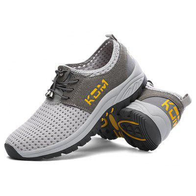 Outdoor Sports Mesh Flying Casual Men ShoesMen's Sneakers<br>Outdoor Sports Mesh Flying Casual Men Shoes<br><br>Available Size: 39,40,41,42,43,44,45<br>Closure Type: Elastic band<br>Embellishment: None<br>Gender: For Men<br>Outsole Material: Rubber<br>Package Contents: 1 x shoes(pair)<br>Pattern Type: Others<br>Season: Spring/Fall<br>Toe Shape: Round Toe<br>Toe Style: Closed Toe<br>Upper Material: PU<br>Weight: 1.3860kg