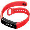 for HUAWEI Honor3 Smart Wristband Silicone Watch Strap - RED