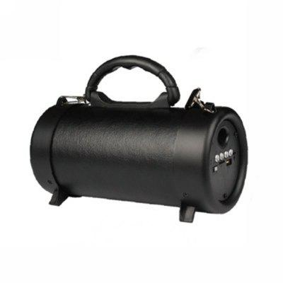 The Portable Barrel Wireless Bluetooth Speakers