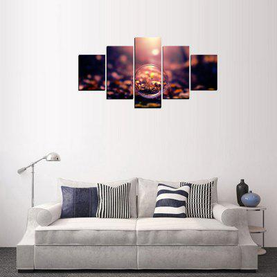MailingArt FIV346  5 Panels Landscape Wall Art Painting Home Decor Canvas PrintPrints<br>MailingArt FIV346  5 Panels Landscape Wall Art Painting Home Decor Canvas Print<br><br>Craft: Print<br>Form: Five Panels<br>Material: Canvas<br>Package Contents: 5 x Print<br>Package size (L x W x H): 82.00 x 32.00 x 12.00 cm / 32.28 x 12.6 x 4.72 inches<br>Package weight: 1.8000 kg<br>Painting: Include Inner Frame<br>Shape: Horizontal Panoramic<br>Style: Oil Painting, Natural<br>Subjects: Botanical<br>Suitable Space: Living Room,Bedroom,Dining Room,Office,Hotel,Cafes,Kitchen,Corridor,Hallway,Study Room / Office