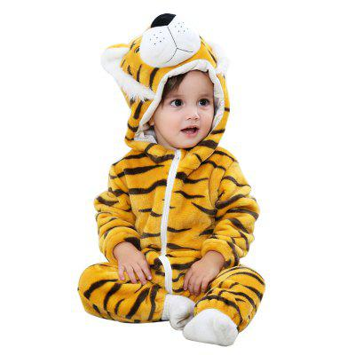 2018 Baby Clothes Spring Autumn Models Flannel Figer Animal Modeling Climb Infant Suit