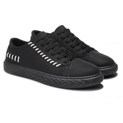 Fashion Trend Mens Casual ShoesCasual Shoes<br>Fashion Trend Mens Casual Shoes<br><br>Available Size: 39-44<br>Closure Type: Lace-Up<br>Embellishment: None<br>Gender: For Men<br>Outsole Material: Rubber<br>Package Contents: 1xShoes(pair)<br>Pattern Type: Solid<br>Season: Summer, Winter, Spring/Fall<br>Toe Shape: Round Toe<br>Toe Style: Closed Toe<br>Upper Material: PU<br>Weight: 1.3640kg