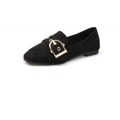 Square Buckle Decoration Set Foot Flat ShoesWomens Flats<br>Square Buckle Decoration Set Foot Flat Shoes<br><br>Available Size: 36,37,38,39,40<br>Closure Type: Slip-On<br>Flat Type: Mary Janes<br>Gender: For Women<br>Occasion: Casual<br>Package Contents: 1xShoes pair<br>Package size (L x W x H): 26.00 x 12.00 x 10.00 cm / 10.24 x 4.72 x 3.94 inches<br>Package weight: 0.5000 kg<br>Pattern Type: Solid<br>Season: Spring/Fall<br>Toe Shape: Square Toe<br>Toe Style: Closed Toe<br>Upper Material: Flock