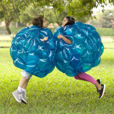 Inflável PVC Bubble Zorb Ball Body Bumper Outdoor Game Funny Toy 60CM