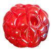 Inflatable PVC Bubble Zorb Ball Body Bumper Outdoor Game Funny Toy 90CM - RED